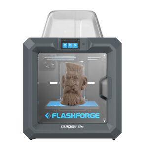 Flashforge Guider 2s 3D Printer Built-in HD Camera 300°C Extruder Air Filtration