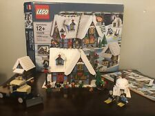 LEGO Winter Village Cottage 10229 100% Complete with box, instructions, minifigs