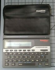 Franklin Wordmaster Deluxe Dictionary Model Wm-1055 Merriam Webster