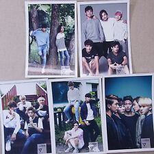 KPOP Seventeen Photo Stand Korea Pop Star Gift 5 Sheets New FreeShipping