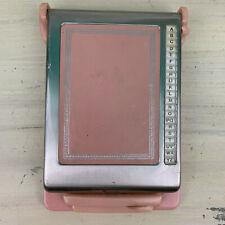 BATES LISTFINDER - Vtg 50s Mid-Century Pink Rose Cavalier Womens Desk Organizer