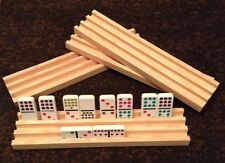 Domino Mahjong Tile Plateaux Supports X4