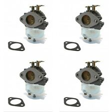 (4) Adjustable CARBURETORS for TECUMSEH Snowblower 7hp 8hp HM70 HM80 Toro Sears