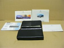 Mercedes 1408990361 W140 S Class Owners Manual Complete w/ Leather Pouch