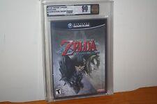 Legend of Zelda: Twilight Princess (Gamecube) NEW SEALED MINT GOLD VGA 90, RARE!