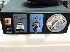 FANFARE 100 CB RADIO FANON/COURIER 23 CHANNEL MIC POWER CORD WORKS CLEAN