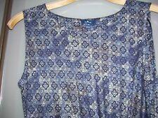 Damen  Freizeit Kleid von Tom Tailor Gr.38 blau/weiß/schwarz neu