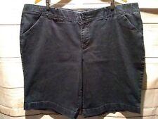 CJ Banks Women's Shorts Blue Jean Plus Size 24W Signature Comfort Waist  AJ14