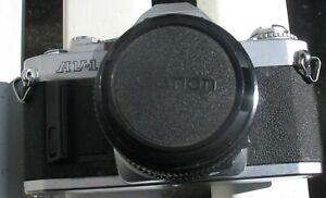 Spiegelreflexkamera - Canon AV 1 + Zubehör
