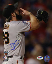 Brian Wilson SIGNED 8x10 PHOTO World Series Champ SF Giants PSA/DNA AUTOGRAPHED