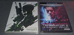 Terminator 2 Steelbook Mondo - Rare + Blu-Ray 4K - Neufs