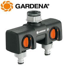 Gardena 2-Wege-Verteiler - 8193 - für Hahnstück mit 33,3mm (G1) Gewinde - NEU