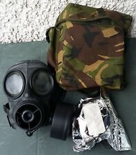 Nice British Military S10 Gas Mask, Haversack & Sealed Spare Canister - Size 2