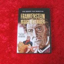 DVD Frankenstein muss sterben - Hammer Edition WIE NEU!