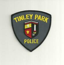 TINLEY PARK ILLINOIS POLICE PATCH