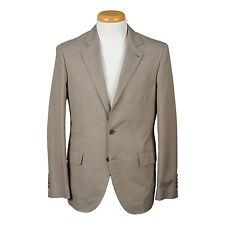 Brunello Cucinelli Luxurious rolling 3 button Cotton Suit USA 40 IT 50 NEW