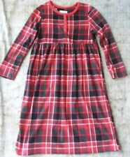 Karen Neuberger Plaid Sleepwear/Pajama Dress Kids Sz.L