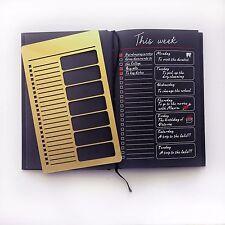 Bullet Journal Stencil, This week, Planner Stencil, bullet journal accessories