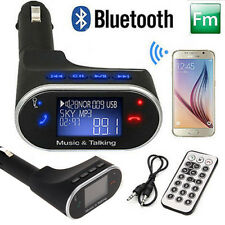 Bluetooth FM Transmitter Radio USB Car Charger for iPhone 6 Plus 5S Samsung HTC