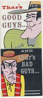 Vintage 1970s Humorous Get Well Card cartoon Style with Lots of Glitter Unused