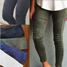 LADIES WOMENS CASUAL SLIM STRETCHY SKINNY JEANS JEGGING Pencil PANTS 6 - 16