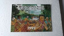 CALENDRIER  SCOUT 1995  HOMMAGE A MITACQ  COMME NEUF