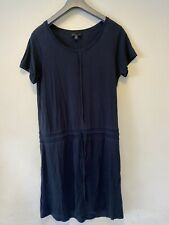 The White Company Label London Size 12 Navy Lyocell Blue Summer Dress