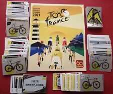 SET COMPLETE ALBUM + ALL STICKERS TO STICK PANINI TOUR DE FRANCE 2021