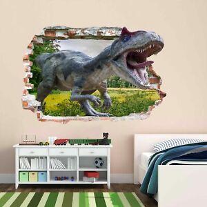 Dinosaur Jungle 3D Wall Sticker Mural Decal Print Art Kids Room Decor AZ36