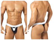 PPU Men's Sexy Tuxedo Thong Underwear 1312 in Choice of Black/White or White/Red