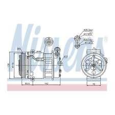 Fits Vauxhall Signum 1.8 Genuine OE Quality Nissens A/C Air Con Compressor