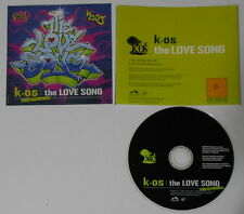 K-os  The Love Song  U.S. promo cd  hard-to-find