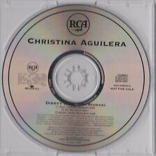Christina Aguilera - Dirrty (feat. Redman) - CD (3xTrack RDJ-60604-2 U.S. Promo)