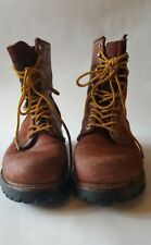 Vintage Red Wing Irish Setter Leather Work Boots Size 8