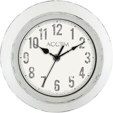 Acctim Bude Wall Clock Analogue White 22042