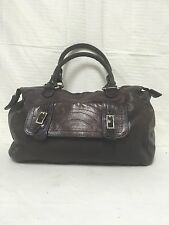 Desmo Italy purple leather purse bag shoulder bag