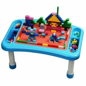 Building Blocks For Kids With Multifunctional Table Block Study Compatible 300pc