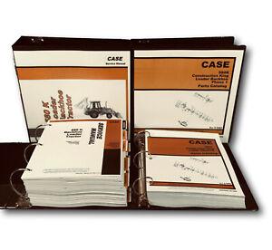 CASE 580K BACKHOE LOADER TRACTOR PHASE 1 SERVICE MANUAL PARTS CATALOG SHOP BOOK