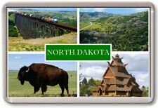 FRIDGE MAGNET - NORTH DAKOTA - Large - USA America TOURIST