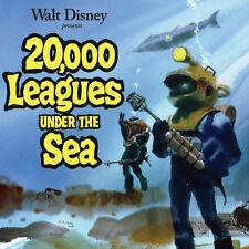 20,000 Leagues Under the Sea Soundtrack Paul Smith CD 19CDT77