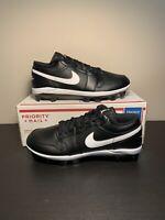Nike Air Jordan 1 Retro MCS Low Baseball Cleats Black CJ8524-001 Men's Size 12