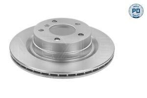 MEYLE PD Brake Rotor Rear Pair 315 523 0049/PD fits BMW 3 Series 318 i (E90) ...