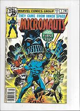 Micronauts #1/Bronze Age Marvel Comic Book/VF