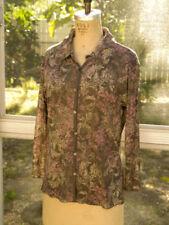 J.Jill Size S/M Pretty Button Down Shirt