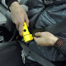 Auto Car Emergency Safety Gear Break Window Glass Hammer Belt Rope Cutter Tool