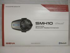 Sena SMH10 Dual Motorcycle Bluetooth Headset and Intercom with Microphone