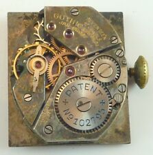 Vintage Gothic Watch Co. Mechanical  Wristwatch Movement - Parts / Repair