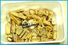 101 Grams Melted Drops Scrap Gold Plated Pins For Recovery Not Solid Gold