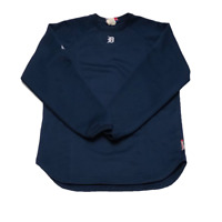 Detroit Tigers Majestic Mens Small Tech Fleece Sweater Therma Base English D