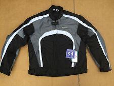 "RK SPORTS Mens Textile Motorbike / Motorcycle Jacket Size UK 46"" Chest (H107)"